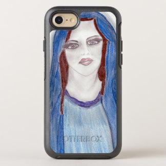 Capa Para iPhone 8/7 OtterBox Symmetry Mary no azul