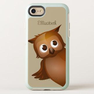 Capa Para iPhone 8/7 OtterBox Symmetry Monograma engraçado conhecido feito sob encomenda