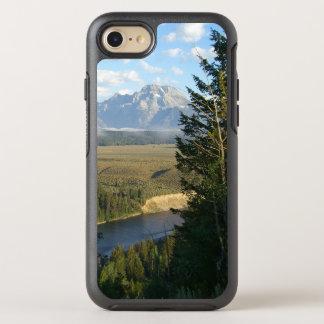 Capa Para iPhone 8/7 OtterBox Symmetry Montanhas e rio de Jackson Hole