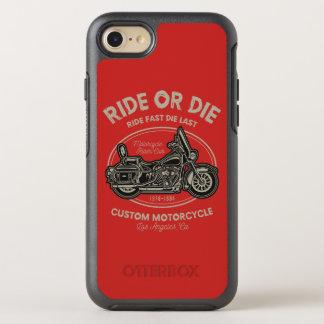 Capa Para iPhone 8/7 OtterBox Symmetry Monte ou morra capa de telefone de Otterbox