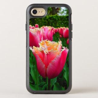 Capa Para iPhone 8/7 OtterBox Symmetry Morte pela capa de telefone das tulipas