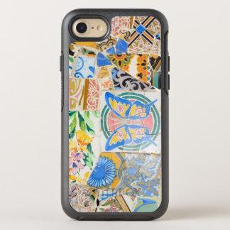 Capa Para iPhone 8/7 OtterBox Symmetry Mosaicos de Guell do parque