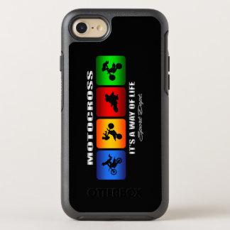 Capa Para iPhone 8/7 OtterBox Symmetry Motocross legal é um modo de vida
