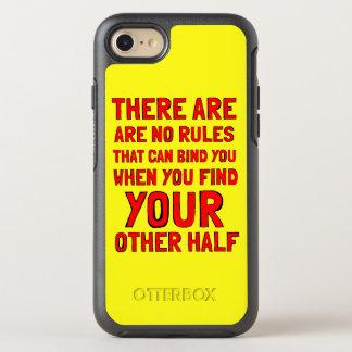 """Capa Para iPhone 8/7 OtterBox Symmetry """"Não há caso de Otterbox de nenhuma regra"""""""