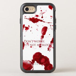 Capa Para iPhone 8/7 OtterBox Symmetry Não se preocupe, ele não é meu sangue