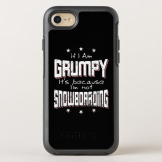 Capa Para iPhone 8/7 OtterBox Symmetry Não SNOWBOARDING MAL-HUMORADA (branca)