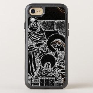 CAPA PARA iPhone 8/7 OtterBox SYMMETRY NATIVIDADE PRETA DO BRANCO E DO OURO