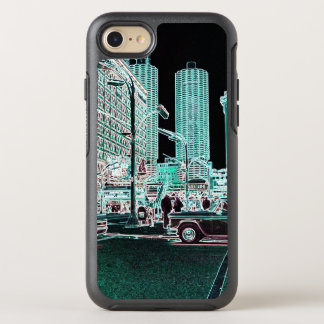 Capa Para iPhone 8/7 OtterBox Symmetry Néon da rua do estado da cidade 1963 do porto de