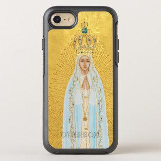 Capa Para iPhone 8/7 OtterBox Symmetry Nossa senhora de Fatima