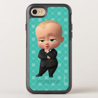 Capa Para iPhone 8/7 OtterBox Symmetry O bebê do chefe   eu sou o chefe!