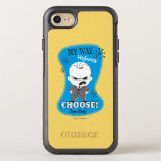 Capa Para iPhone 8/7 OtterBox Symmetry O bebê do chefe | minha maneira. Estrada