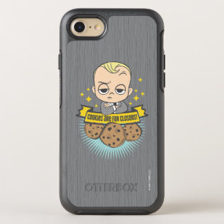 Capa Para iPhone 8/7 OtterBox Symmetry O bebê & os biscoitos do bebê | do chefe são para