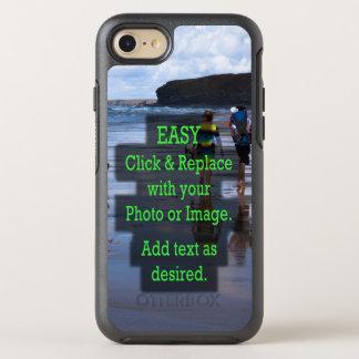Capa Para iPhone 8/7 OtterBox Symmetry O clique simples & substitui a foto para criar