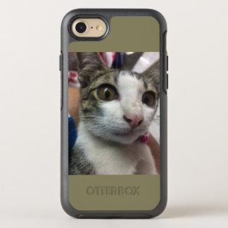 Capa Para iPhone 8/7 OtterBox Symmetry O gato está olhando-o encaixotar Iphone