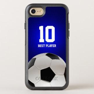Capa Para iPhone 8/7 OtterBox Symmetry O melhor jogador nenhum presente dos esportes do