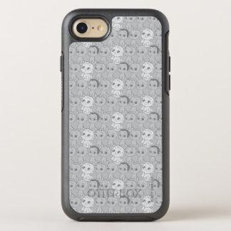Capa Para iPhone 8/7 OtterBox Symmetry O teste padrão cinzento do bebê | do chefe