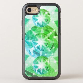 Capa Para iPhone 8/7 OtterBox Symmetry Olhar do cristal de rocha do compasso de pedra