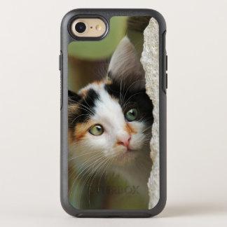 Capa Para iPhone 8/7 OtterBox Symmetry Olhos de elevação por meio de alavanca curiosos