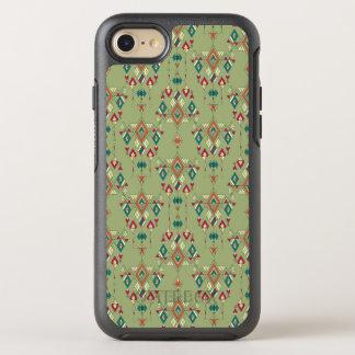Capa Para iPhone 8/7 OtterBox Symmetry Ornamento asteca tribal étnico do vintage