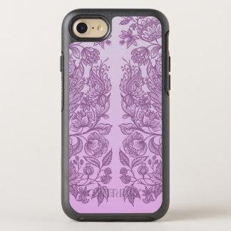 Capa Para iPhone 8/7 OtterBox Symmetry Ornamento cor-de-rosa empoeirado