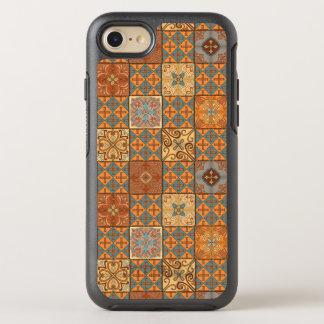 Capa Para iPhone 8/7 OtterBox Symmetry Ornamento de talavera do mosaico do vintage