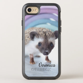 Capa Para iPhone 8/7 OtterBox Symmetry Ouriço colorida minúsculo personalizado