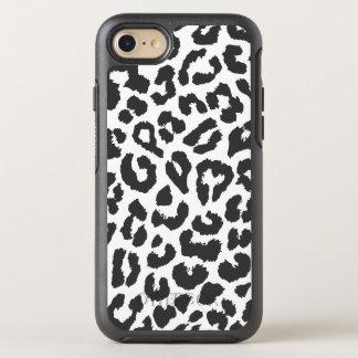 Capa Para iPhone 8/7 OtterBox Symmetry Padrões pretos & brancos da pele animal do