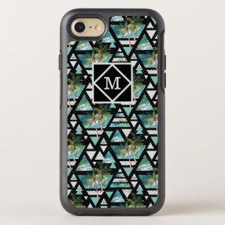 Capa Para iPhone 8/7 OtterBox Symmetry Palmas & teste padrão de ondas geométricos