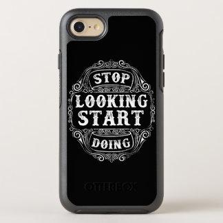 Capa Para iPhone 8/7 OtterBox Symmetry Pare de olhar o começo que faz a capa de telefone