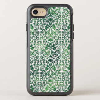 Capa Para iPhone 8/7 OtterBox Symmetry Patina afligido do damasco do mar verde erva