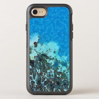 Capa Para iPhone 8/7 OtterBox Symmetry Peixes que movem-se sobre o recife