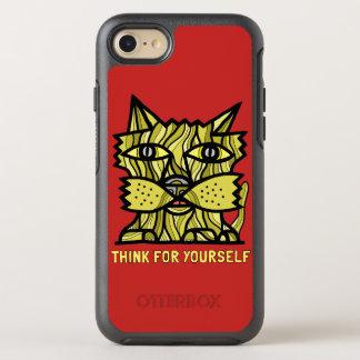 """Capa Para iPhone 8/7 OtterBox Symmetry """"Pense para o senhor mesmo"""" o caso de Otterbox"""
