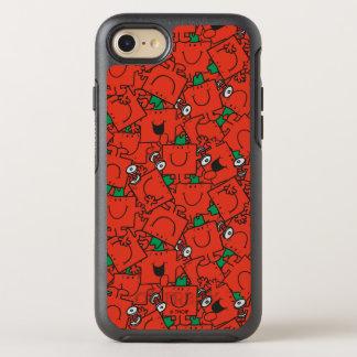 Capa Para iPhone 8/7 OtterBox Symmetry Pesos de levantamento do Sr. Forte | vermelhos &