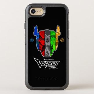 Capa Para iPhone 8/7 OtterBox Symmetry Pilotos de Voltron   na cabeça de Voltron