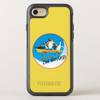 Capa Para iPhone 8/7 OtterBox Symmetry Pinguins a bordo