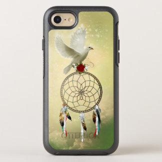 Capa Para iPhone 8/7 OtterBox Symmetry Pomba Dreamcatcher