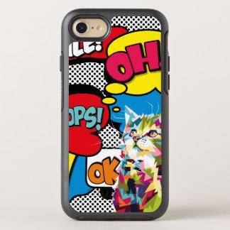 Capa Para iPhone 8/7 OtterBox Symmetry Pop art icónico da esperança cómica colorida do