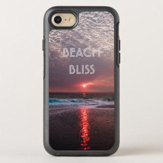 Capa Para iPhone 8/7 OtterBox Symmetry Por do sol tropical do paraíso da felicidade da