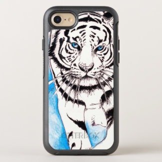 Capa Para iPhone 8/7 OtterBox Symmetry Porca branca do tigre Siberian