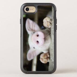 Capa Para iPhone 8/7 OtterBox Symmetry Porco do bebê na caneta, leitão