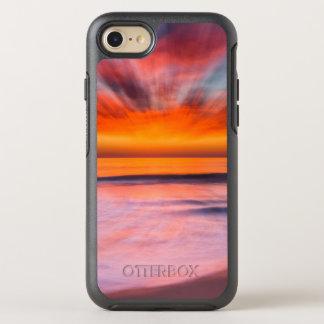 Capa Para iPhone 8/7 OtterBox Symmetry Praia | Carlsbad de Tamarack do por do sol, CA