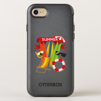 Capa Para iPhone 8/7 OtterBox Symmetry Praia Watersports do verão