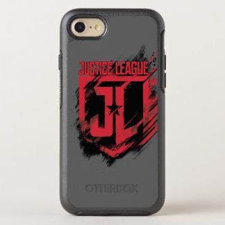 Capa Para iPhone 8/7 OtterBox Symmetry Protetor escovado   da pintura JL da liga de
