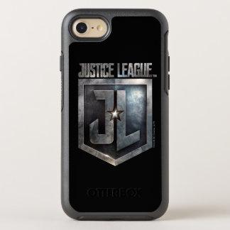 Capa Para iPhone 8/7 OtterBox Symmetry Protetor metálico da liga de justiça   JL