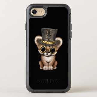 Capa Para iPhone 8/7 OtterBox Symmetry Puma bonito Cub do bebê de Steampunk