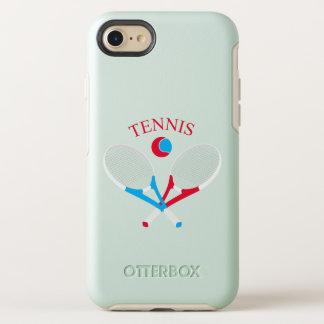 Capa Para iPhone 8/7 OtterBox Symmetry Raquetes de tênis e bola de tênis