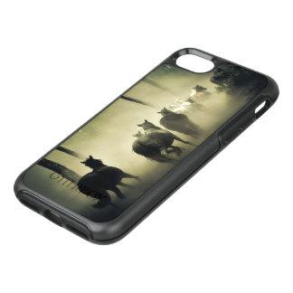 Capa Para iPhone 8/7 OtterBox Symmetry Rebanho do cavalo na névoa