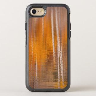 Capa Para iPhone 8/7 OtterBox Symmetry Reflexões do outono na lagoa | Winthrop do castor,