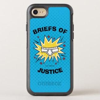 Capa Para iPhone 8/7 OtterBox Symmetry Resumos do capitão Cuecas   de justiça