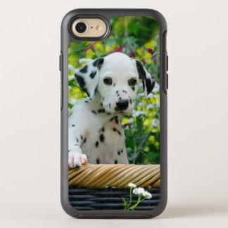 Capa Para iPhone 8/7 OtterBox Symmetry Retrato Dalmatian bonito Phoneprotection do